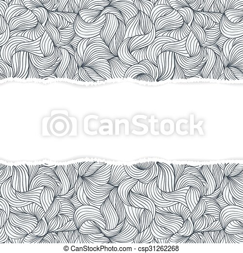 abstract seamless pattern with torn paper - csp31262268