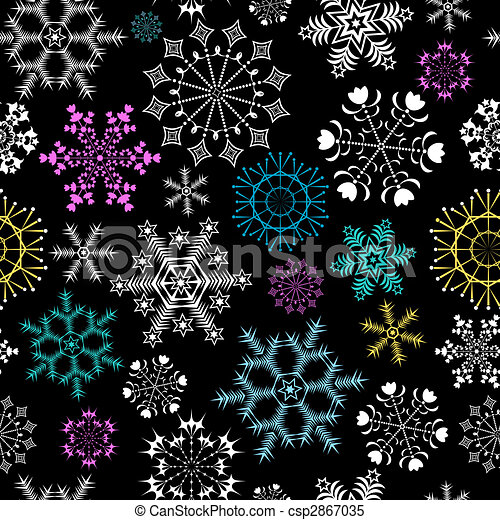 Abstract seamless violet background (vector) - csp2867035