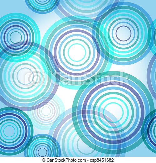 Abstract seamless water background - csp8451682