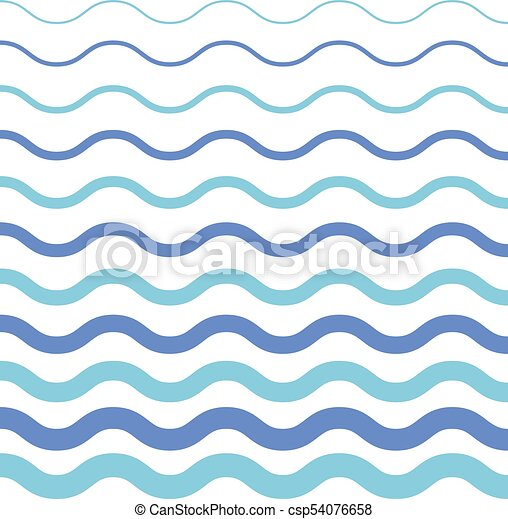 Abstract Seamless Wave Pattern
