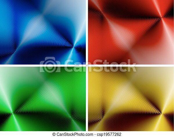 abstract, set, achtergronden, veelkleurig - csp19577262
