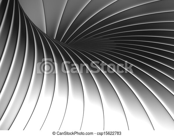 Abstract shape metal background - csp15622783