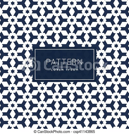 abstract shape pattern decoration - csp41143865