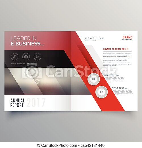 abstract shapes booklet brochure template design magazine cover page