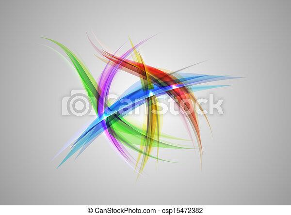 abstract shapes - csp15472382