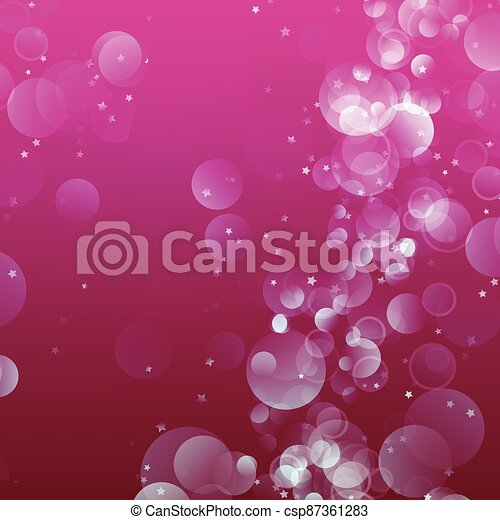 Abstract shiny blurred lights background stock illustration - csp87361283