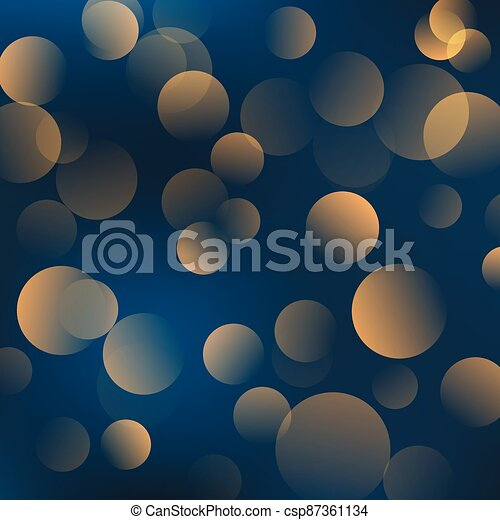 Abstract shiny blurred lights background stock illustration - csp87361134