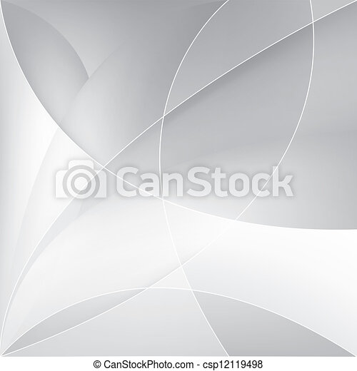 Abstract silver background, vector - csp12119498