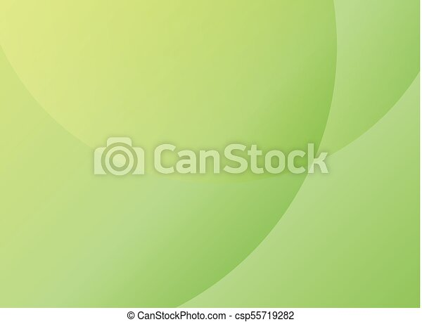 Simple Elegant Line Art : Abstract simple circles overlay green color minimal modern