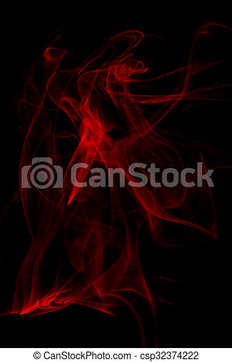 abstract smoke background - csp32374222