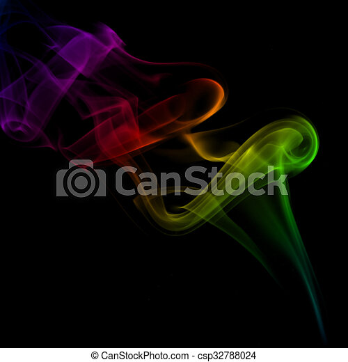 abstract smoke background - csp32788024