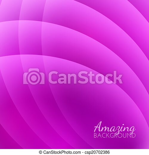 Abstract Smooth Waves Vector Background - csp20702386