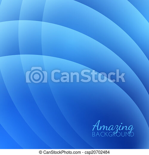Abstract Smooth Waves Vector Background - csp20702484