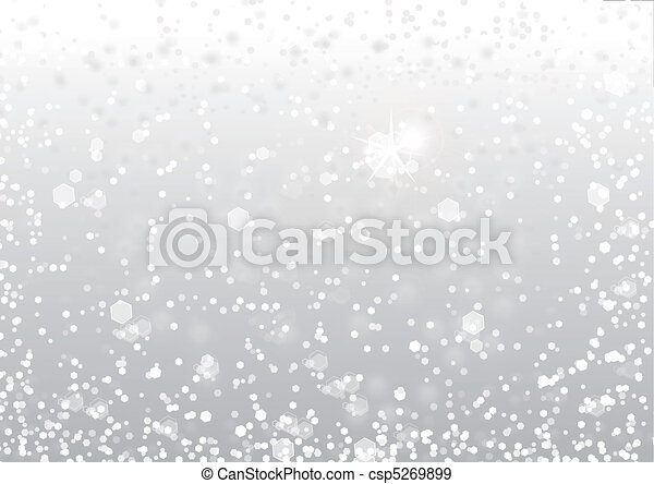 Abstract snow background  - csp5269899