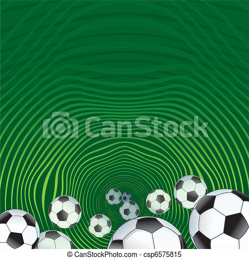 Abstract Soccer background - csp6575815