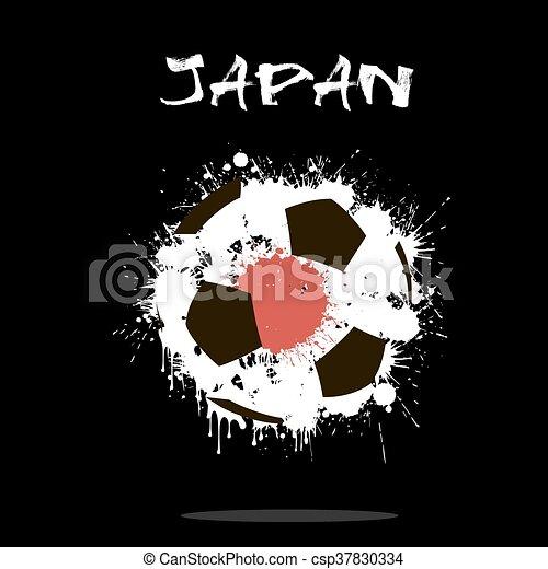 Abstract Soccer ball - csp37830334
