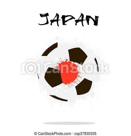 Abstract Soccer ball - csp37830335
