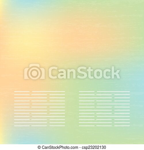 Abstract soft  banners set. Purple, green, blue, yellow, pink pastel colorful background. - csp23202130