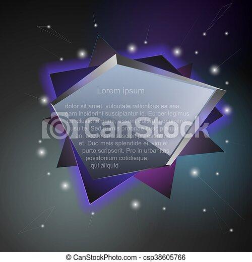Abstract speech balloons or talk bubbles - csp38605766