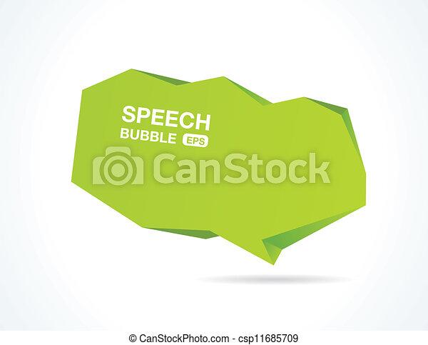 Abstract speech bubble - csp11685709