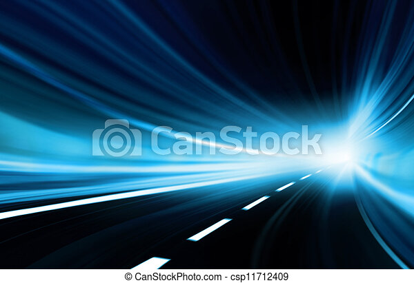 Abstract speed motion - csp11712409