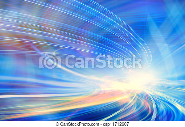 Abstract speed motion - csp11712607