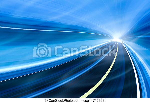 Abstract speed motion illustration - csp11712692