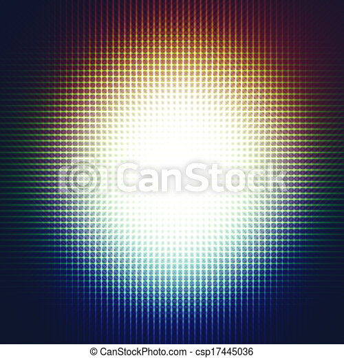 Abstract sphere light background  - csp17445036