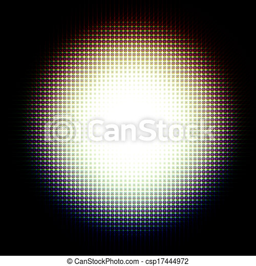 Abstract sphere light background  - csp17444972