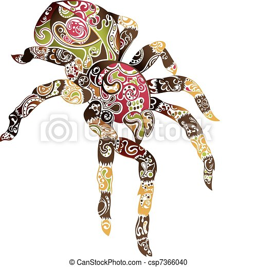Abstract Spider - csp7366040
