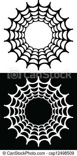 Abstract Spiders web - csp12498509