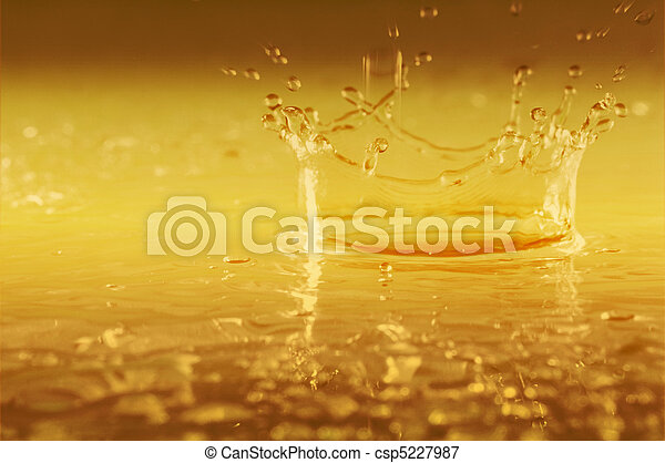 Abstract splash and drops. - csp5227987