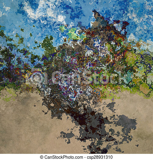 Abstract splashes - csp28931310
