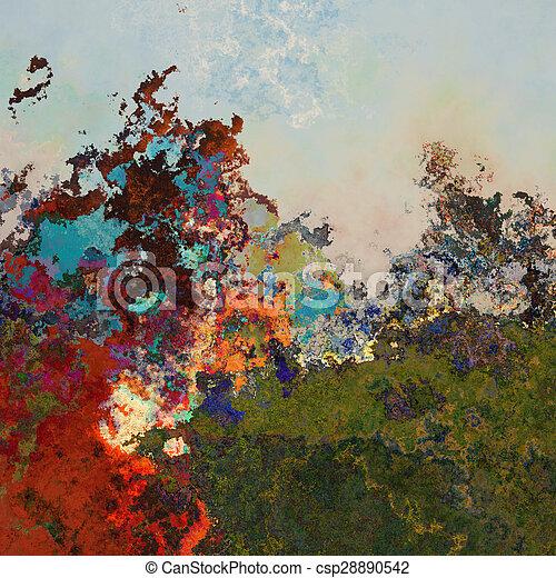 Abstract splashes - csp28890542
