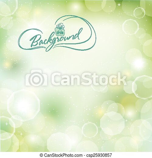 Abstract spring background - csp25930857