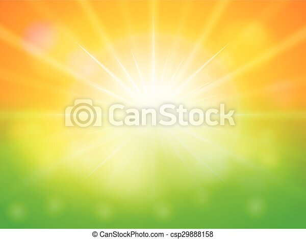abstract spring background - csp29888158