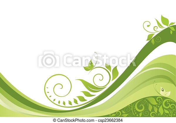 Abstract spring background - csp23662384