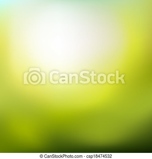 Abstract spring background - csp18474532