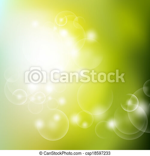 Abstract spring background - csp18597233
