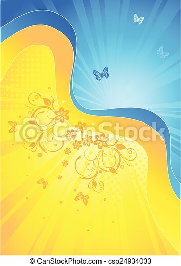 Abstract Spring background - csp24934033