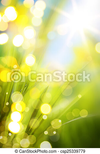 abstract spring background  - csp25339779
