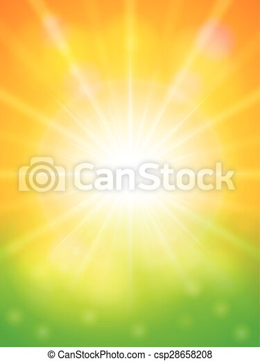abstract spring background - csp28658208