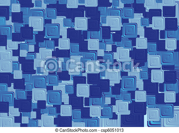 Abstract square shape - csp6051013