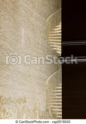 Abstract Staircase - csp0016043