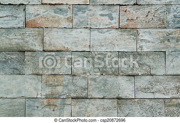 abstract stone wall detail - csp20872696