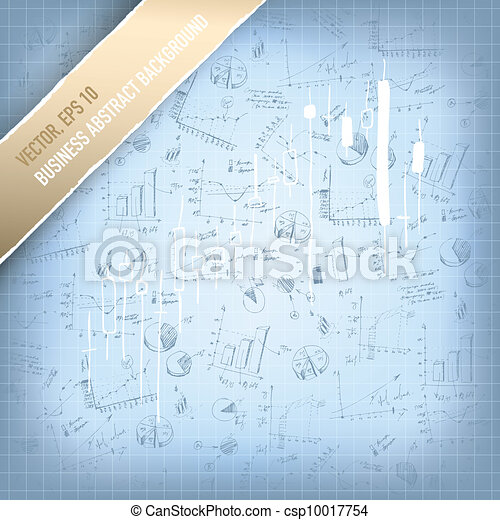 Abstract successful business background. Vector, EPS 10 - csp10017754