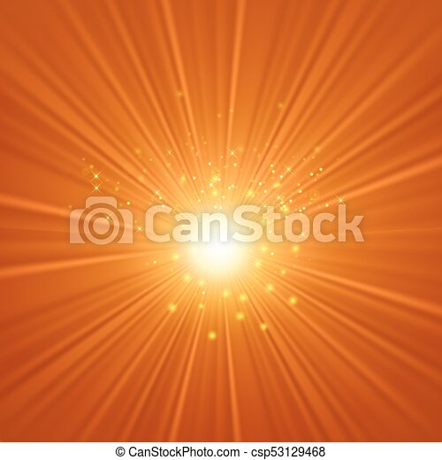 Abstract Sun Background - csp53129468