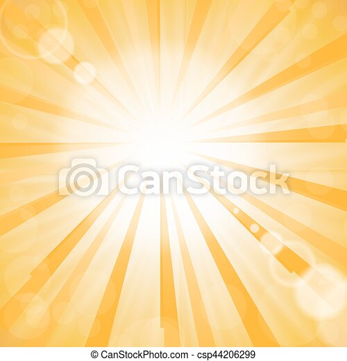 Abstract Sun Background - csp44206299