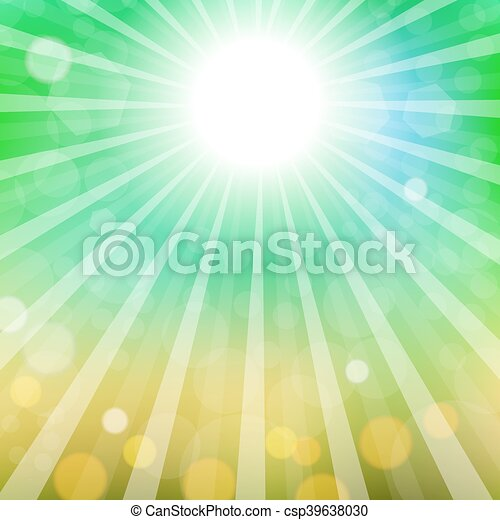 Abstract Sun Background - csp39638030