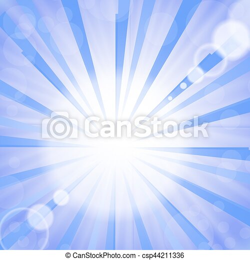 Abstract Sun Background. - csp44211336